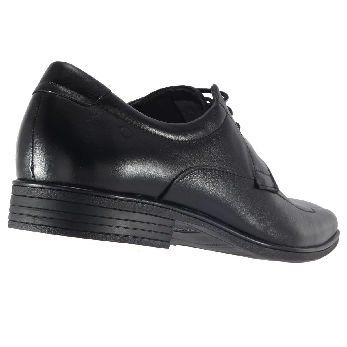 Sapato Social Democrata Alpha Flex Masculino Couro Cadarço 045012