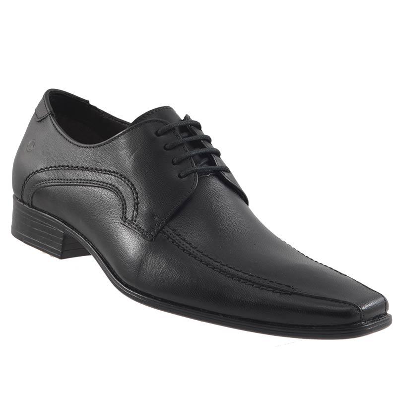 Sapato Social Democrata Denver Couro Masculino Cadarço Lindo 450045