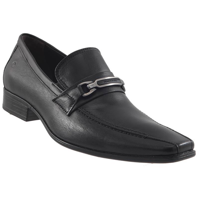 Sapato Social Democrata Denver Couro Masculino Lindo 450044