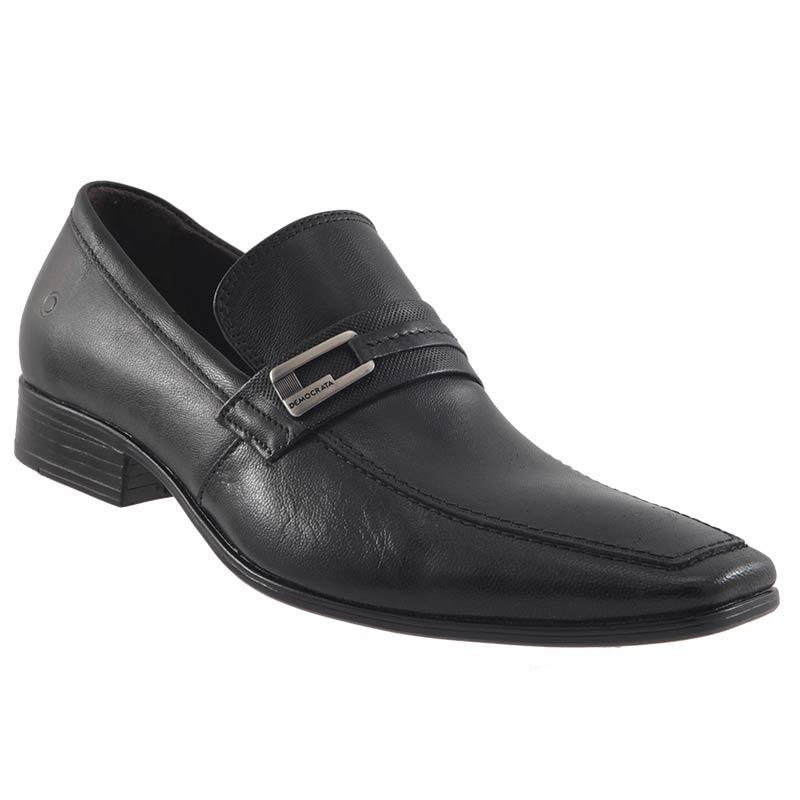 Sapato Social Democrata Denver Couro Masculino Lindo 450046