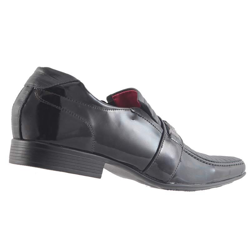 Sapato Social em Couro Legítimo Masculino D`mazons VIE12066