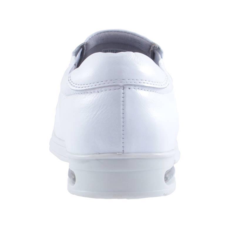 Sapato Social Masculino Fork Amortecimento Air Soft Confort Branco 8919