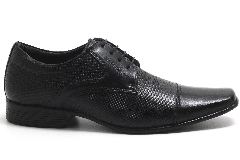 Sapato Social Rafarillo Cadarço Couro Masculino 34001