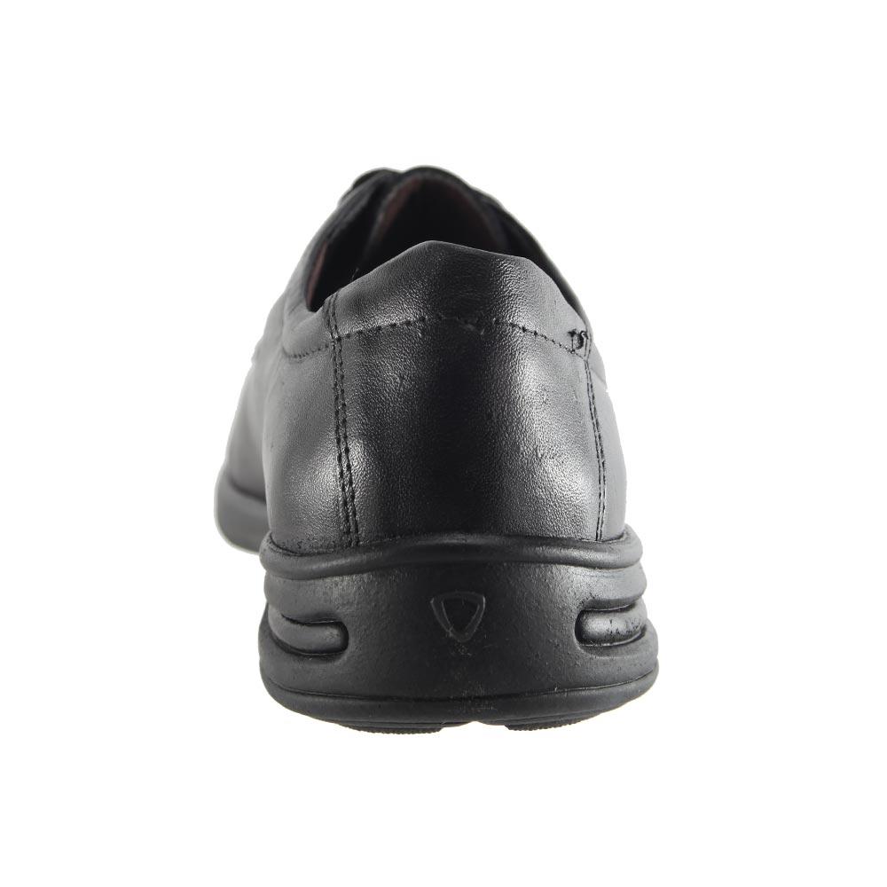 Sapato Social Trilhos Cadarço Em Couro Legítimo Conforto Masculino 0073M