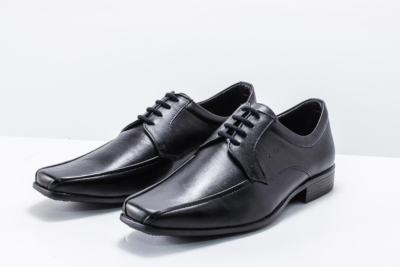 Sapato Social Zanuetto Masculino Couro Cadarço 3010