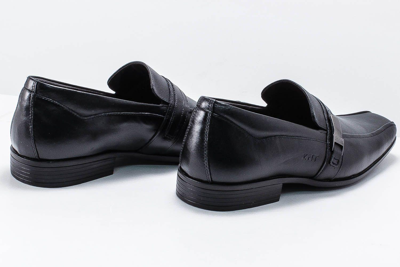 Sapato Social Zanuetto Masculino Couro Fivela 3020