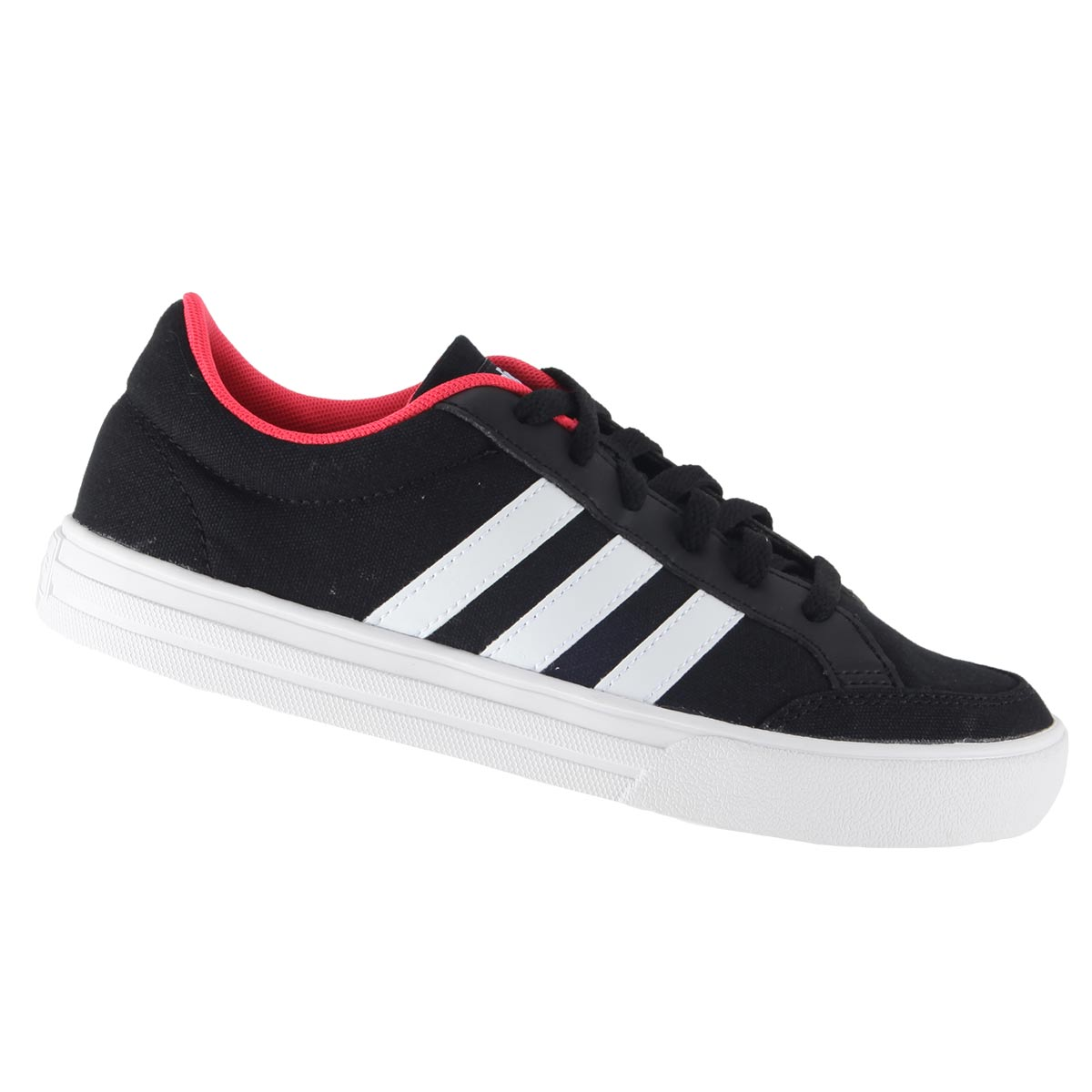 Tênis Adidas VS Set Unissex Casual Retrô Lona BB9651