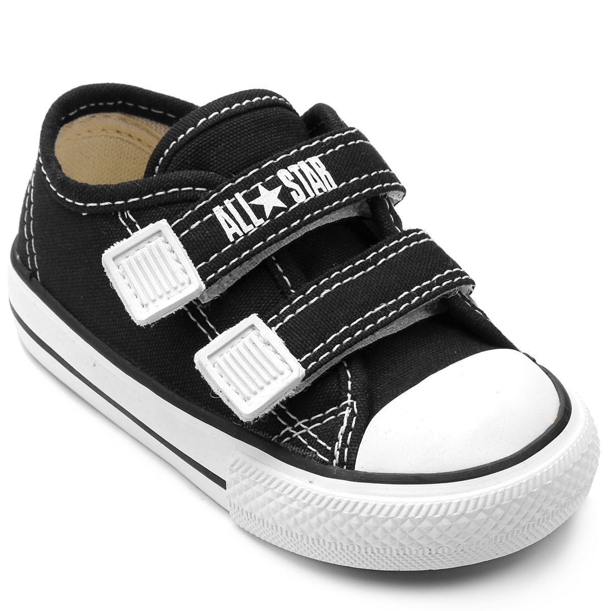 Tênis Infantil Converse All Star CT Border 2 Velcros Baby CK0508