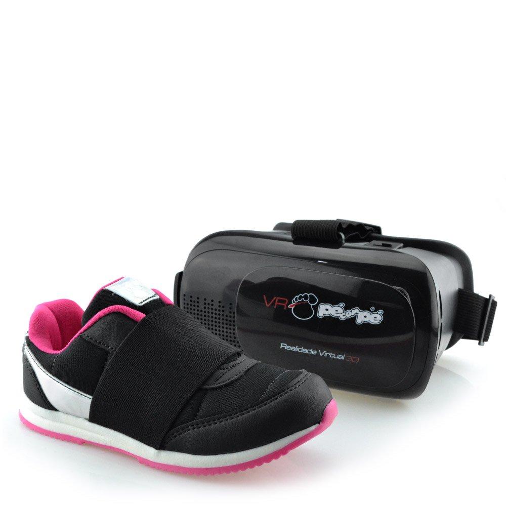 Tênis Pé com Pé Menina VR Realidade Virtual 3D 60001