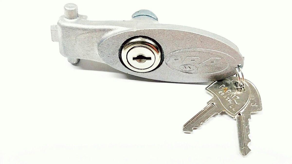 Alavanca de alumínio do destravamento Dz Rio (jateado) com fechadura PPA