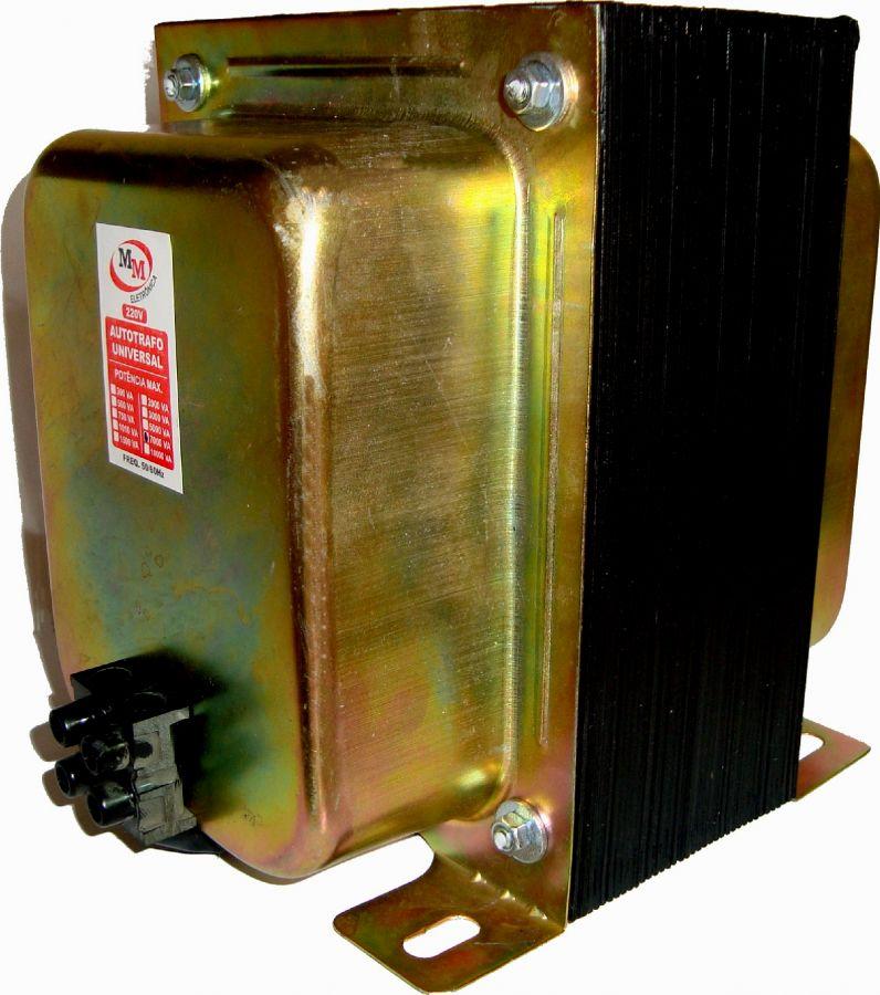 Auto Transformador automático 10.000VA Bivolt 110/220 E 220/110 - marca MM  - Esferatronic Comercio e Distribuição