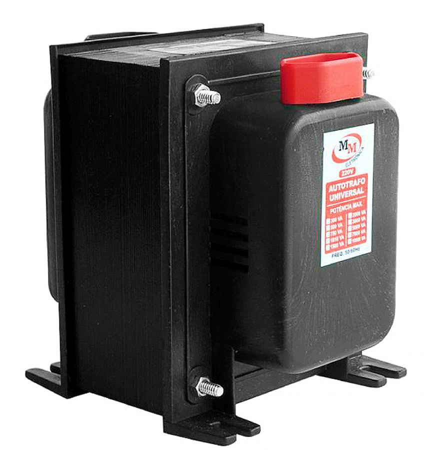 Auto Transformador automático 3000VA Bivolt 110/220 E 220/110 - marca MM