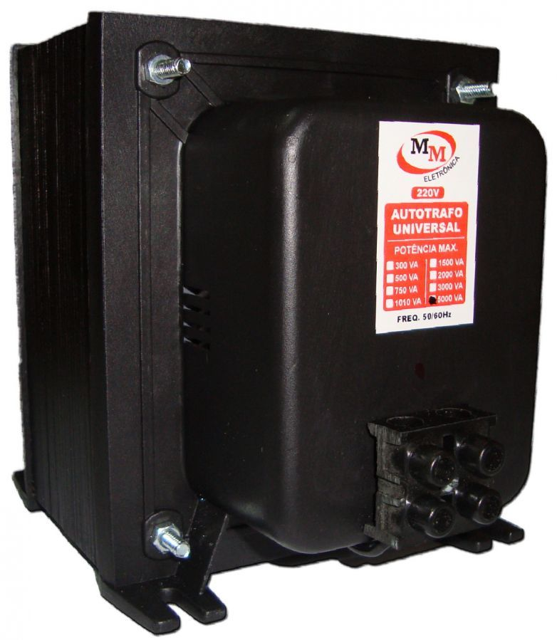 Auto Transformador automático 5000VA Bivolt 110/220 E 220/110