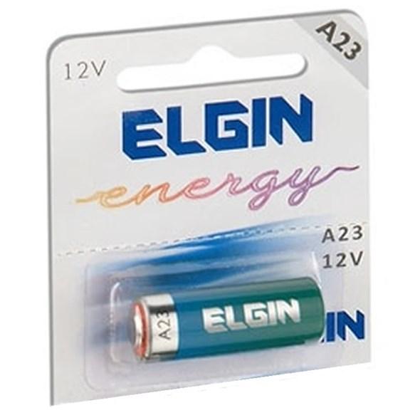Bateria pilha energy 12V A23 p/ controle alarme portão - Elgin