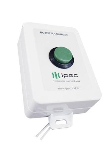 Botoeira de comando simples com fio - Ipec  - Esferatronic Comercio e Distribuição