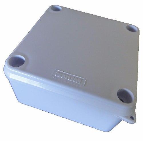 Caixa para proteção de derivação e conectores de câmeras