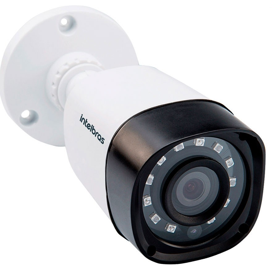 Câmera Bullet Infravermelho Multi HD 4 em 1 Intelbras VHD 1120 B G3 HD 720p 2,8mm