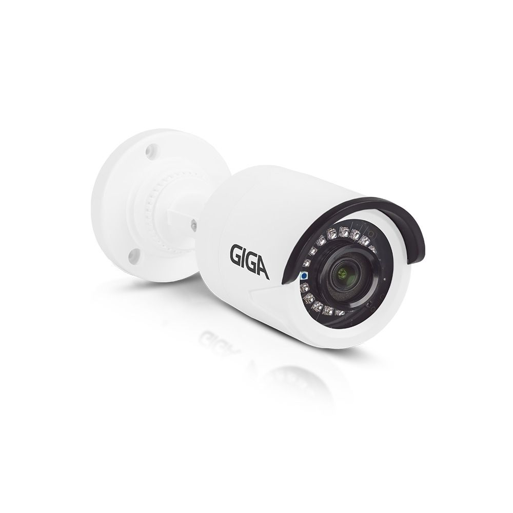 Câmera Bullet Giga Open HD Sony super Starvis 1080P IR WDR 1/2.8 30M 3,6mm IP66 GS0055