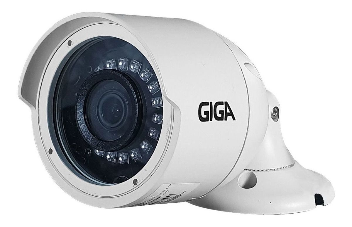 Câmera de Segurança Giga Bullet Orion Ultra HD 2K 5 Megapixels infra 30m 3,6mm ip66 GS0047