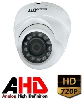 Câmera Dome Infravermelho AHD LVC5280D HD 720P 2,8mm IP67 Luxvision