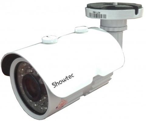 Câmera infra 36 leds ccd digital 1/3 800 linhas 3,6mm IR Cut 40 metros - Showtec  - Esferatronic Comercio e Distribuição