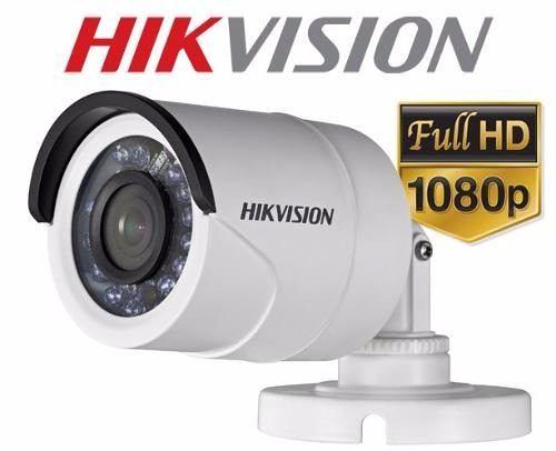 Câmera Infra Bullet Turbo Hdtvi 2mp 1080p Hikvision Lente 3,6mm