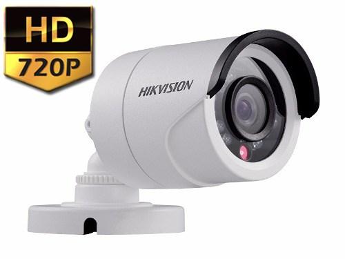 Câmera Infra Hikvision 720p Turbo Hd 20mt Hd-tvi 1.0mp 3.6mm