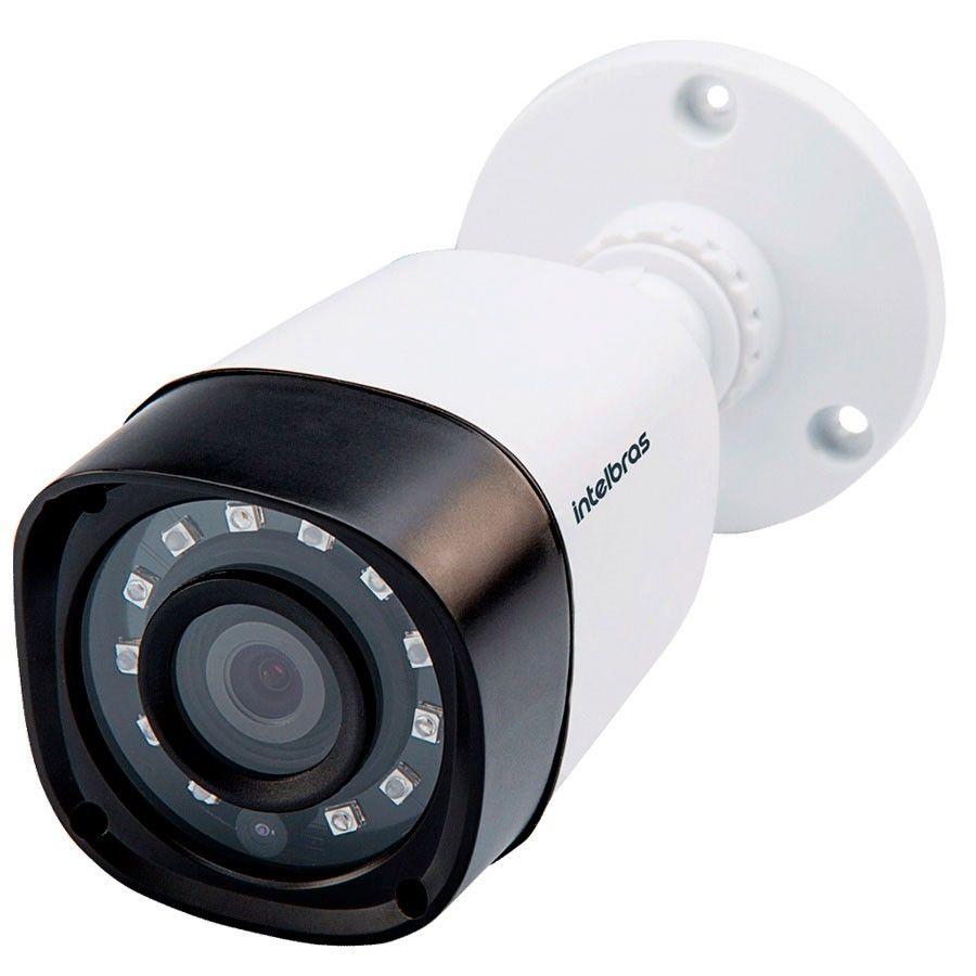 Câmera Infravermelho Bullet Multi HD 4 em 1 Intelbras VHD 1120 B G3 HD 720p 2,8mm