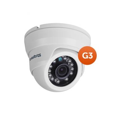 Câmera Intelbras Dome Analog + AHD 720p Vmd 1010 IR 3,6mm G3  - Esferatronic Comercio e Distribuição