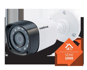Câmera Intelbras Bullet Infra Mult HD 720p VHD 1010B G4 3.6mm