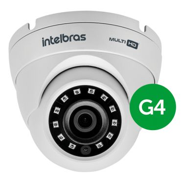 Câmera Intelbras Dome Infra Mult HD 720p VHD 1010D G4 3.6mm