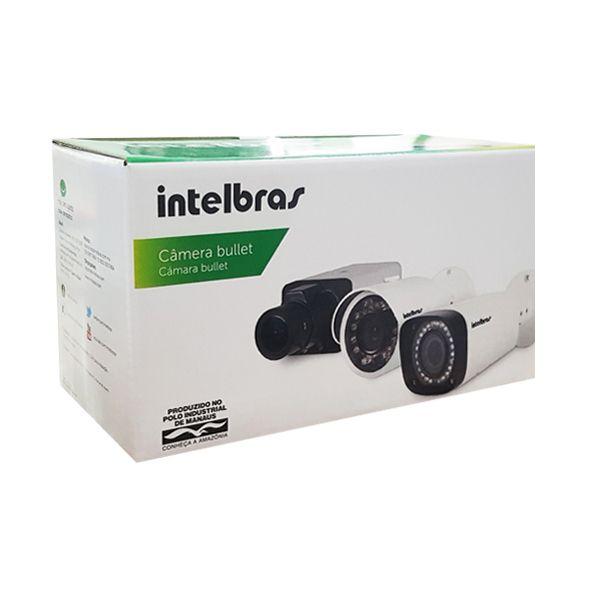 Câmera Intelbras Bullet Infra Mult HD 720p VHD 1120B 2.6mm G4