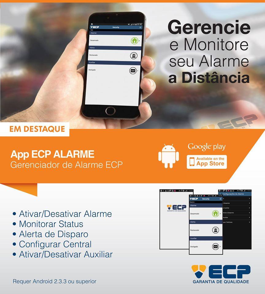 Central De Alarme Gsm Max 4 Cell Ecp Com Discadora Celular  - Esferatronic Comercio e Distribuição
