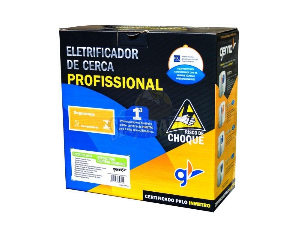 Central de cerca elétrica Revolution control Comunic  - Esferatronic Comercio e Distribuição