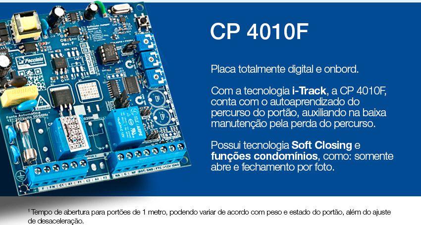 Central de comando eletrônica bivolt CP 4010F - Peccinin