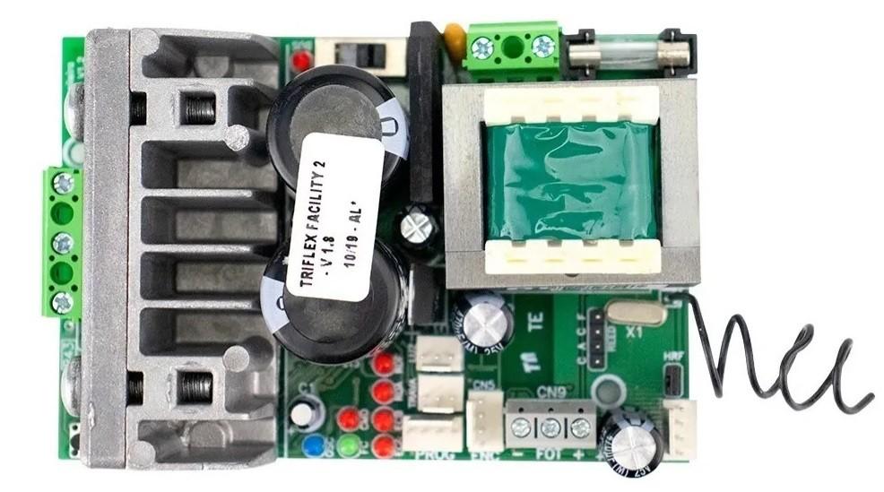Central de comando eletrônica Triflex Facility Hibrida bivolt - PPA