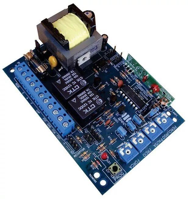 Central placa de comando eletrônica 4 trimpots linha Garen com receptor 433MHZ - IPEC