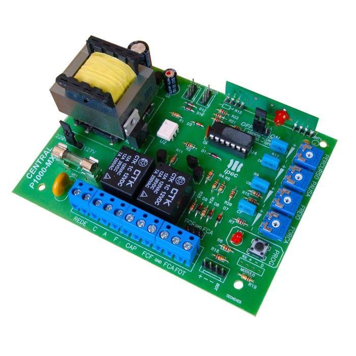Central Placa de comando eletrônica bivolt P1000-MX130 compatível Rossi - Ipec