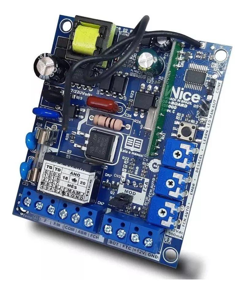 Central Placa de comando eletrônica Gatter S-BOARD 1000 bivolt - Peccinin