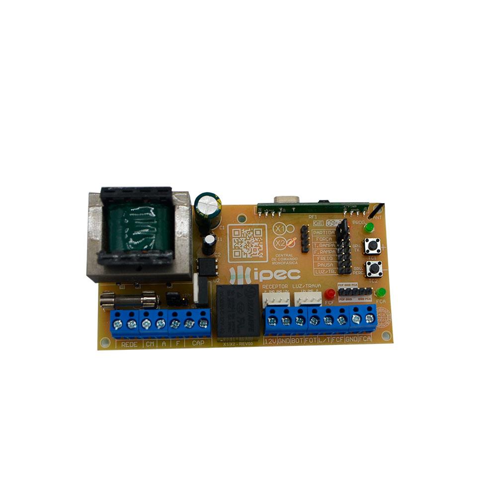 Central Placa de comando Universal X2 ST FULL para portão eletrônico