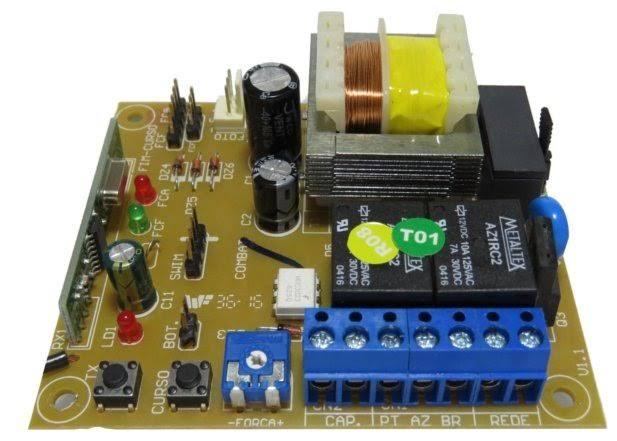 Central placa eletrônica Classic trafo com embreagem A00880 - GAREN