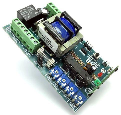 Central placa motor de portão eletrônico FCT4T-Hibrida (PPA) - Mkn