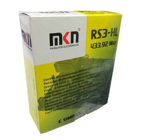 Central placa motor de portão eletrônico RS3-Hall (Kxh-30) - Mkn