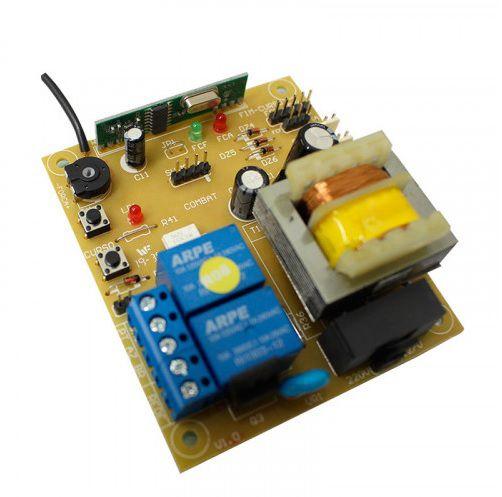 Conjunto automatizador portão de correr DZ Fit 1/4 hp Garen