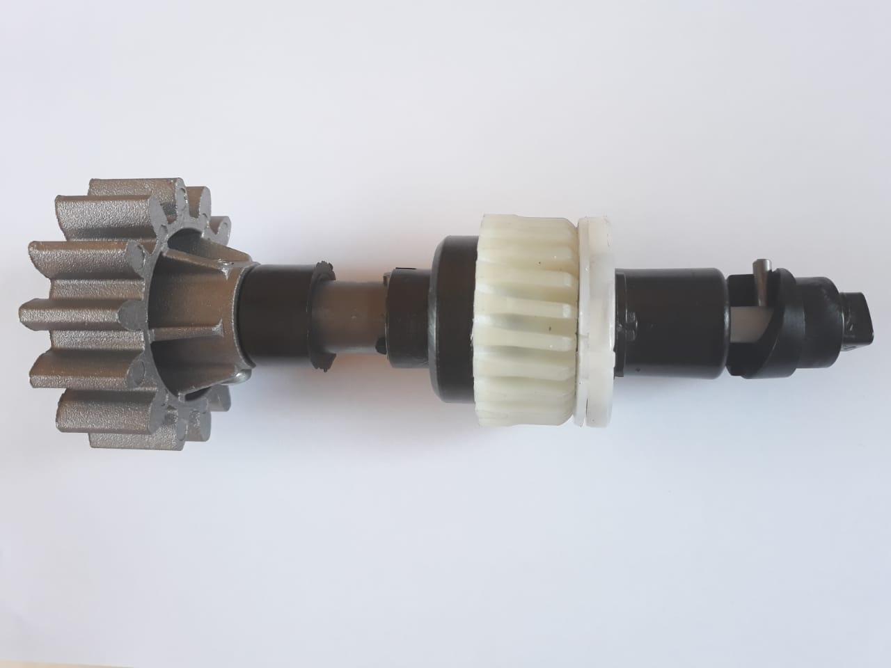 Conjunto eixo principal para motor Dz Home Digital Eng. Z14 Aluminio (RED. 1:22) PPA