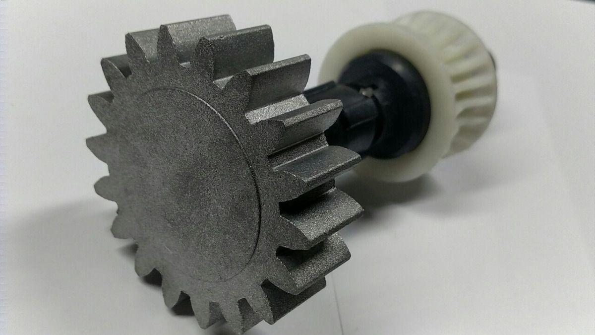 Conjunto eixo principal para motor Dz Rio Turbo analógico Eng. Z18 Aluminio (RED. 1:23) PPA