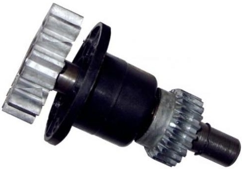 Conjunto eixo principal para motor Nano turbo 17 dentes - Rossi