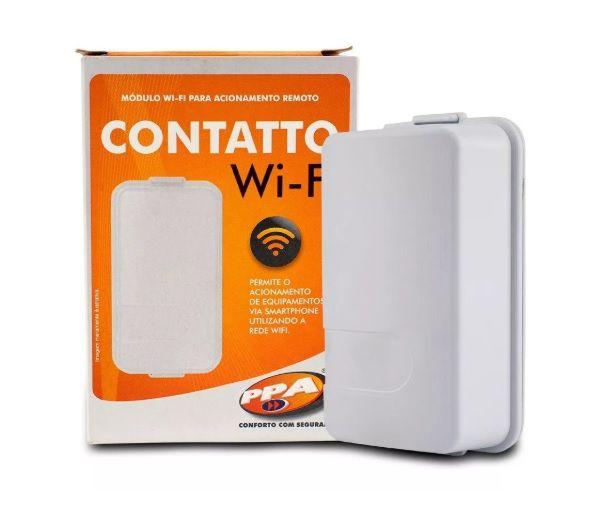 Modulo Contatto WIFI PPA Acione alarme, portão ou cerca elétrica via App