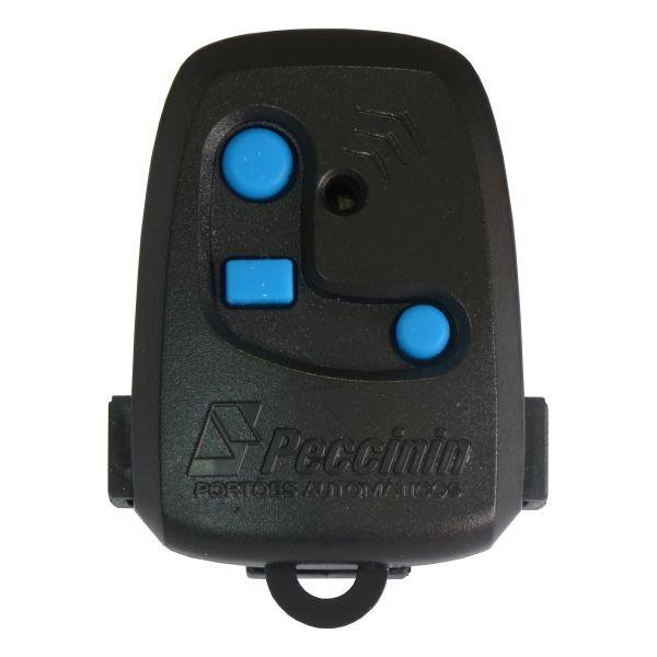 Controle remoto Peccinin 433Mhz 3C para Portão eletrônico Automatico