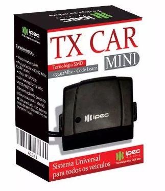 Controle remoto De Portão para Farol alto De Carro Tx Car Ipec